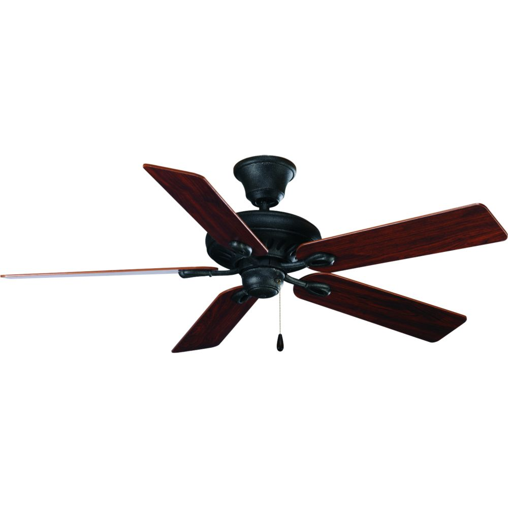 52 In. AirPro Signature Gilded Iron Ceiling Fan