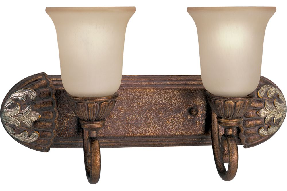 Carmel Collection Tuscany Crackle 2-light Wall Bracket