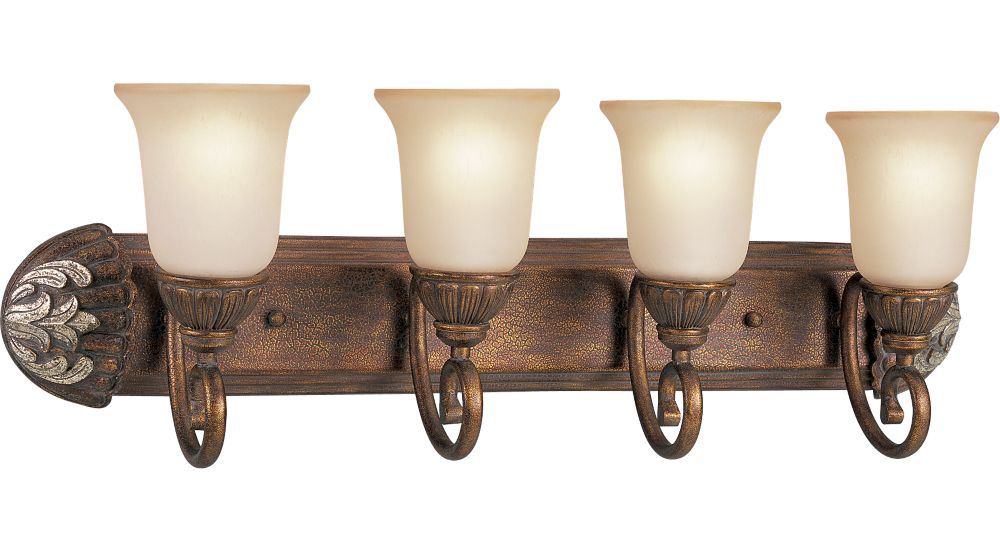 Carmel Collection Tuscany Crackle 4-light Wall Bracket