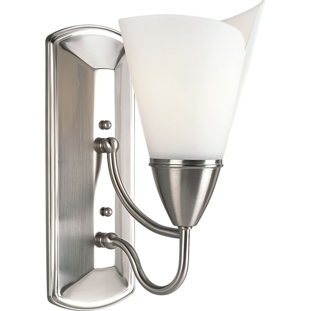 Westend Collection Brushed Nickel 1-light Wall Bracket