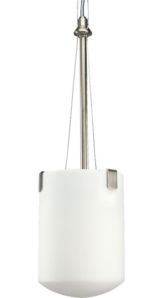 International Collection Brushed Nickel 1-light Chandelier