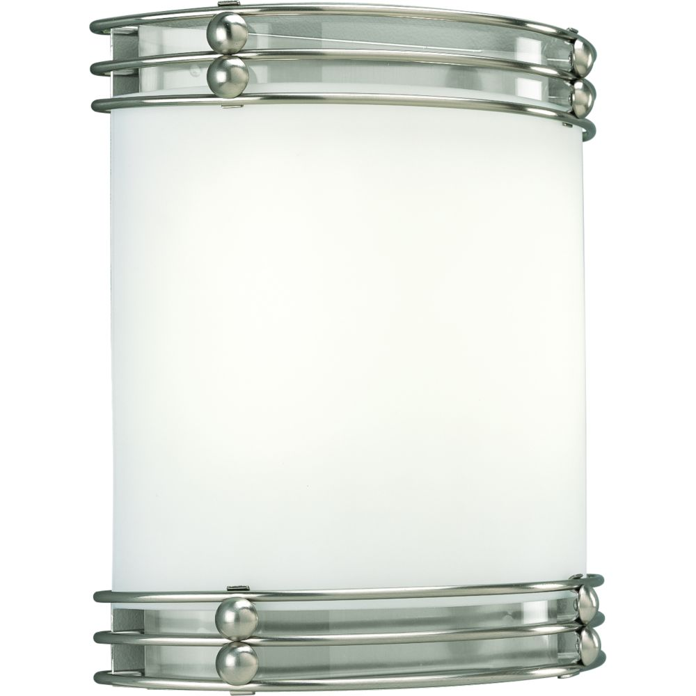 Brushed Nickel 2-light Wall Sconce