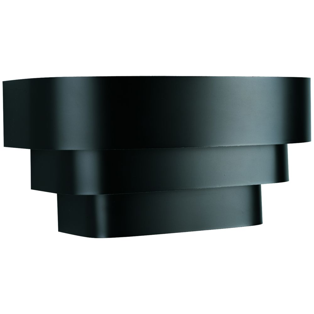 Wall Sconces Theater Lighting : Progress Lighting Black 1-light Wall Sconce The Home Depot Canada