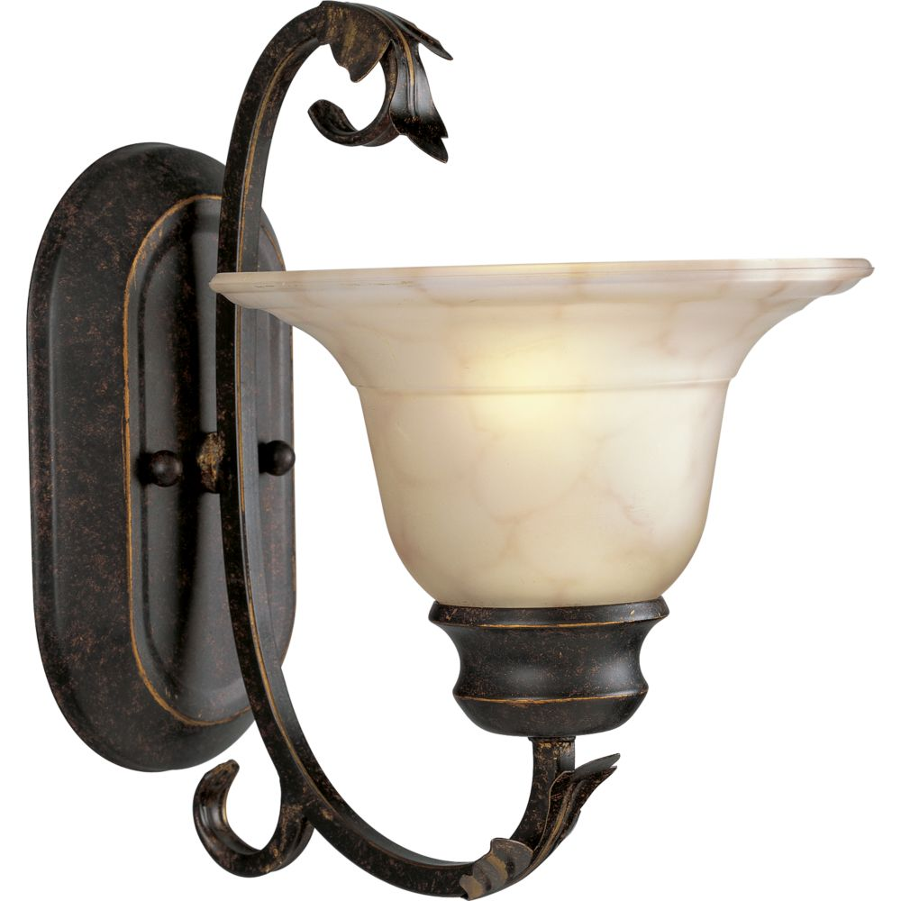 Veranda Collection Espresso 1-light Wall Bracket