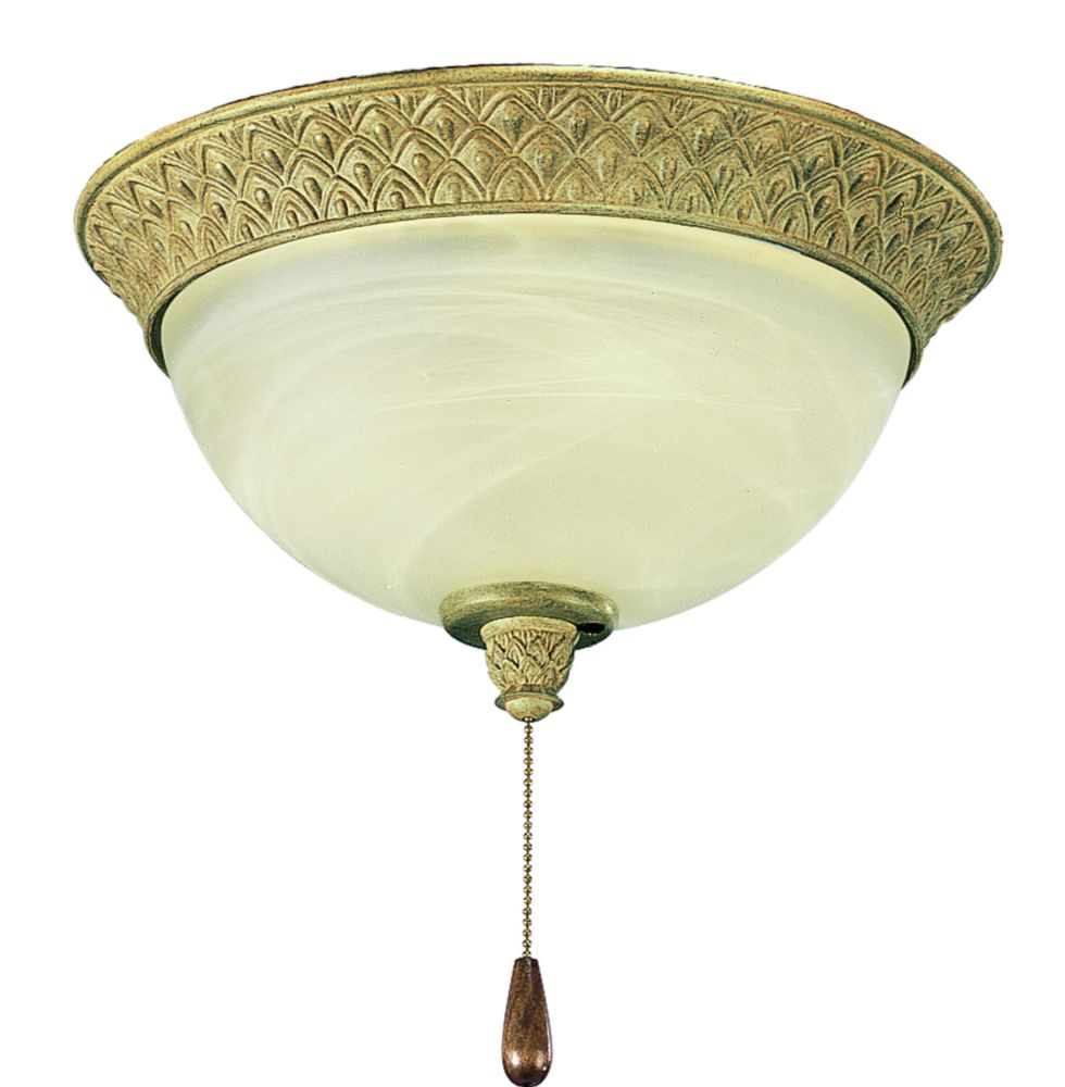 Savannah Collection Seabrook 2-light Ceiling Fan Light
