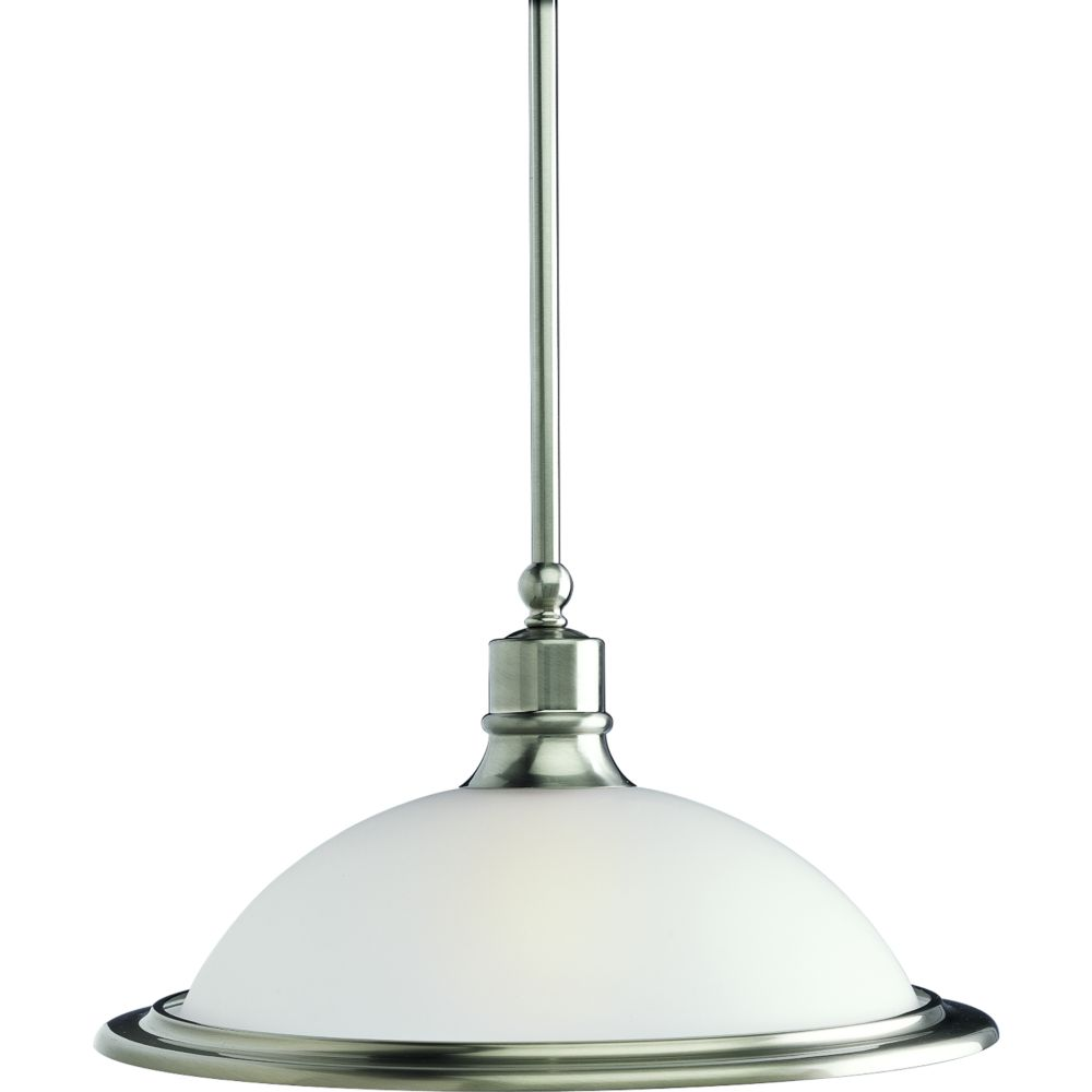 Madison Collection Brushed Nickel 1 Light Pendant 11 Canada Discount