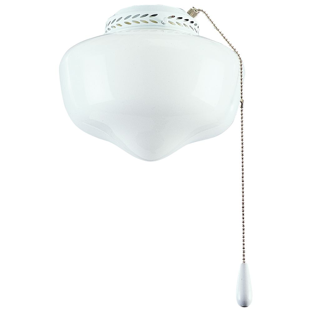 AirPro White 1-light Ceiling Fan Light