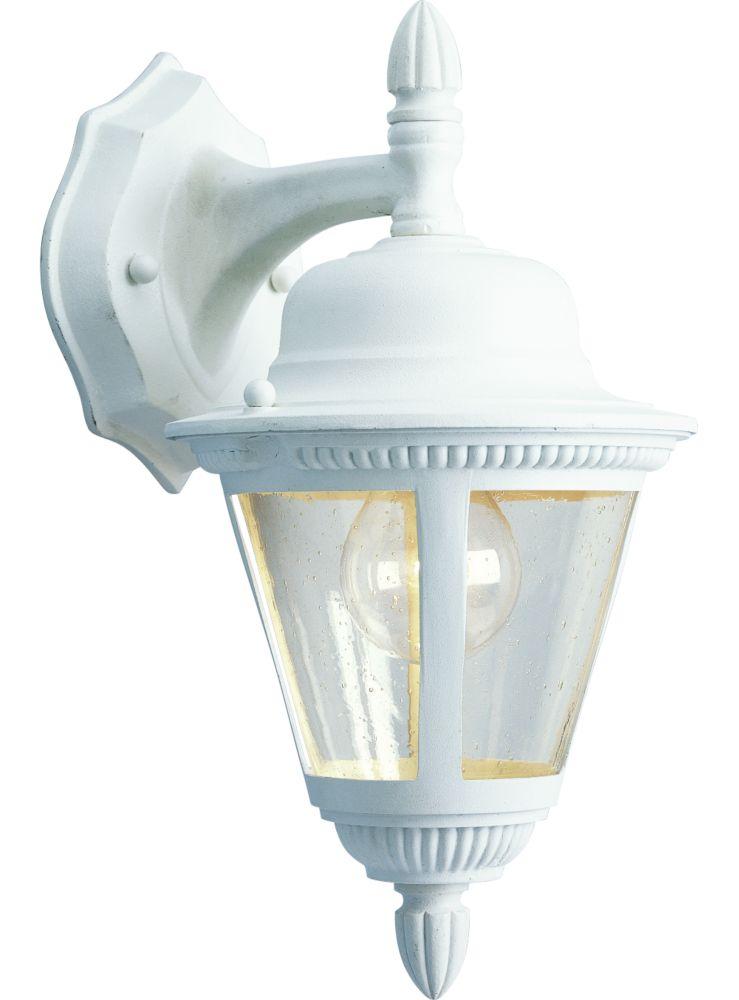 Westport Collection White 1-light Wall Lantern