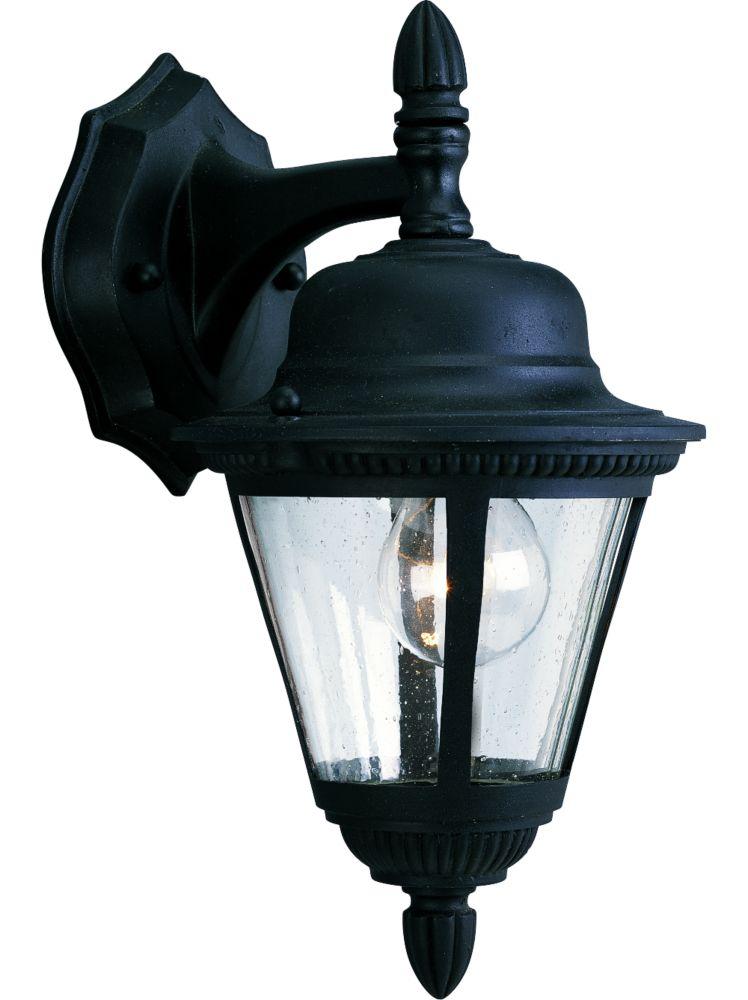 Westport Collection Textured Black 1-light Wall Lantern