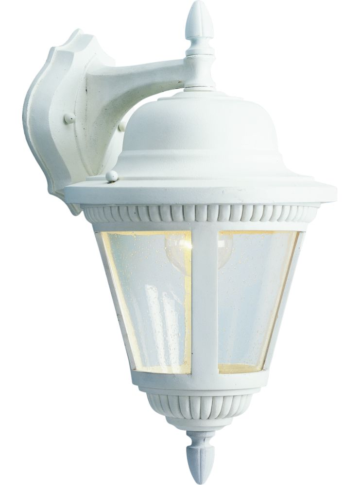 Lanterne murale à 1 Lumière, Collection Westport - fini Blanc