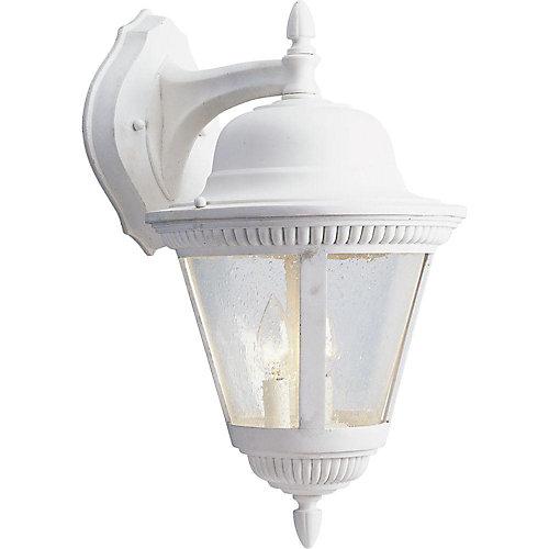 Lanterne murale à 2 Lumières, Collection Westport - fini Blanc