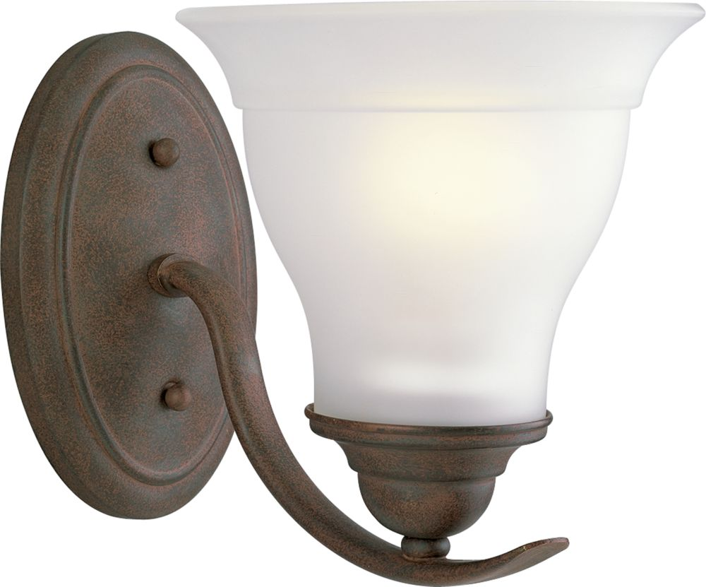 Trinity Collection Cobblestone 1-light Wall Bracket