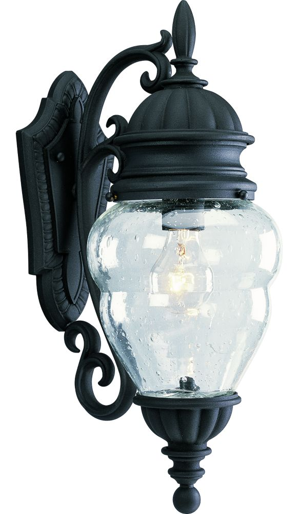 Anderson Collection Textured Black 1-light Wall Lantern
