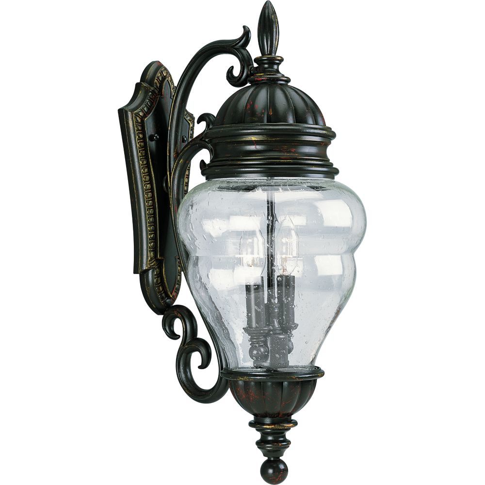 Anderson Collection Antique Bronze 2-light Wall Lantern