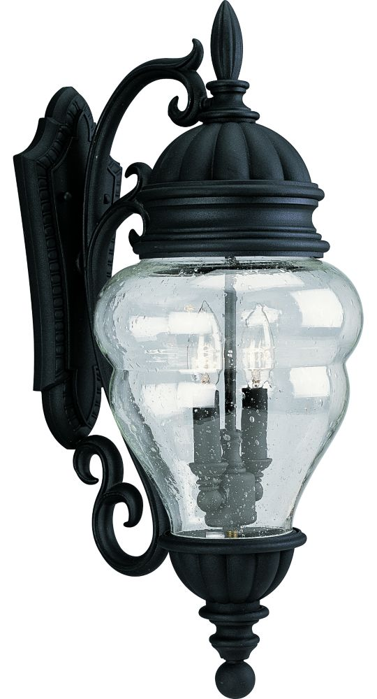 Anderson Collection Textured Black 2-light Wall Lantern