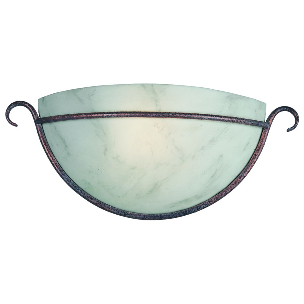 Travera Collection Copper Verde 1-light Wall Sconce