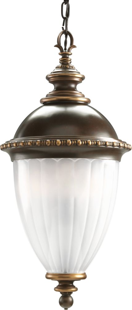 Chesham Collection Oil Rubbed Bronze 3-light Hanging Lantern