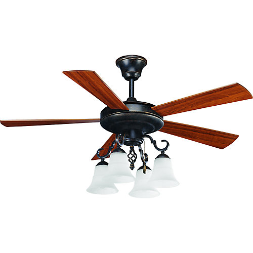 52 in melbourne collection espresso ceiling fan