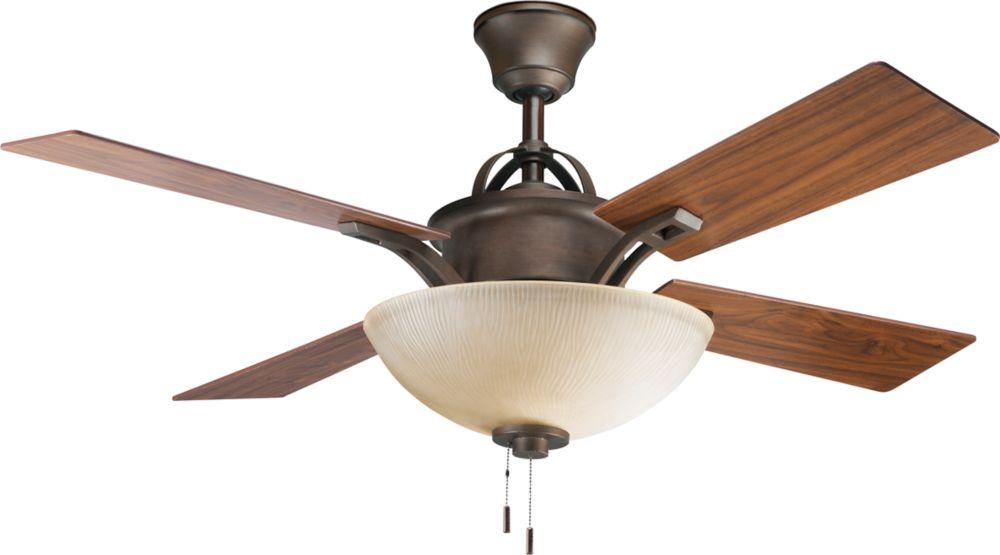 52 In. Riverside Collection Heirloom Ceiling Fan