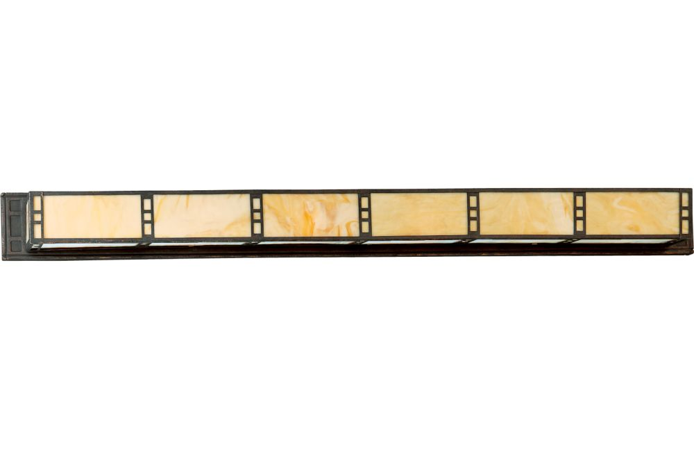 Arts and Crafts Collection Weathered Bronze 6-light Wall Bracket