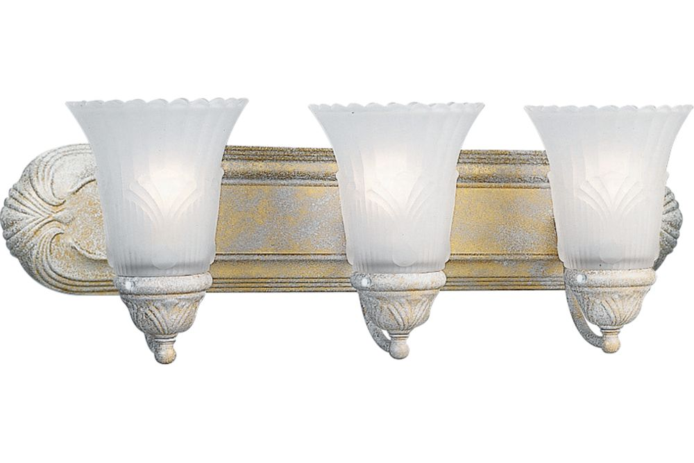 Montgomery Collection Venetian Gold 3-light Wall Bracket