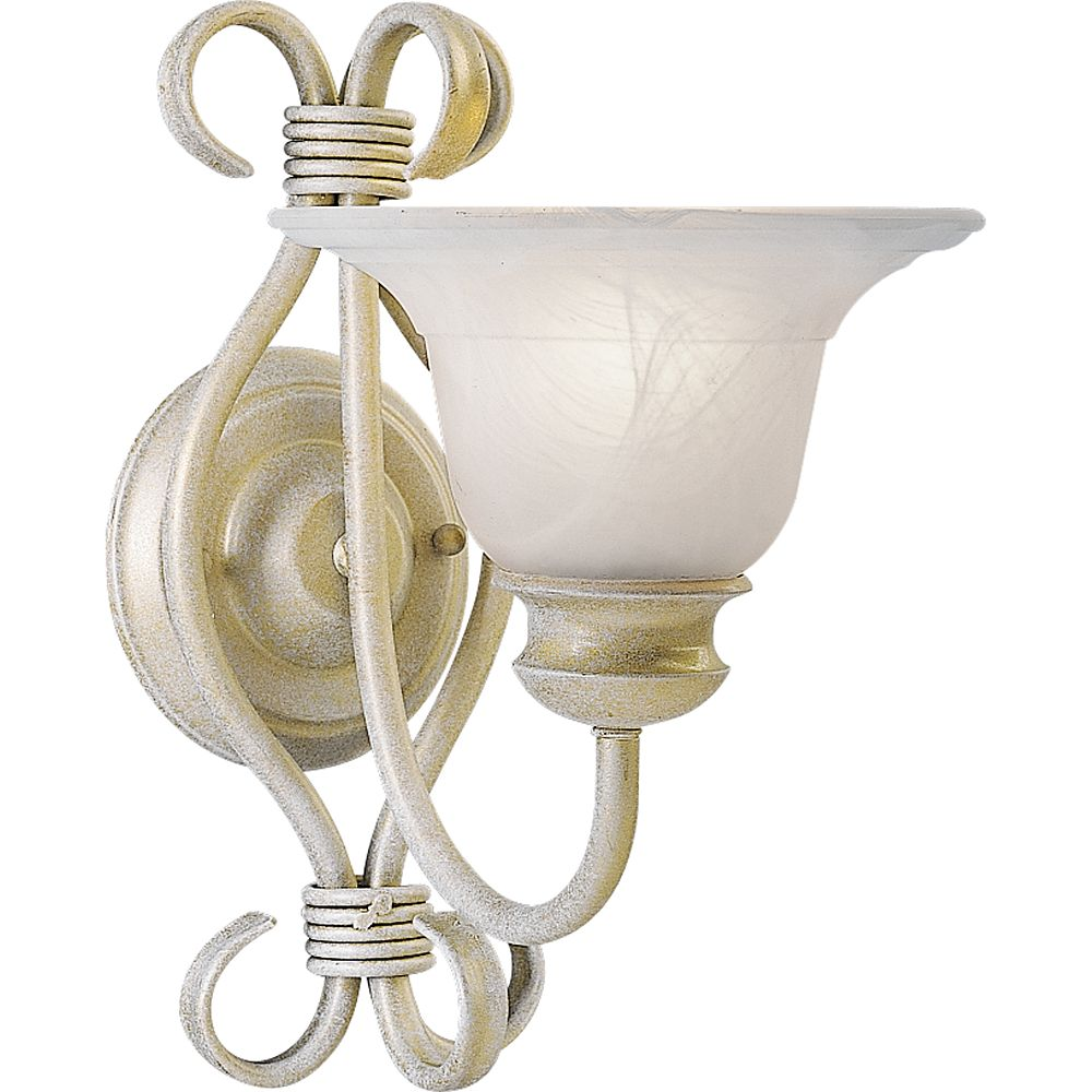 Progress Lighting Masira Collection Venetian Gold 1-light Wall Bracket