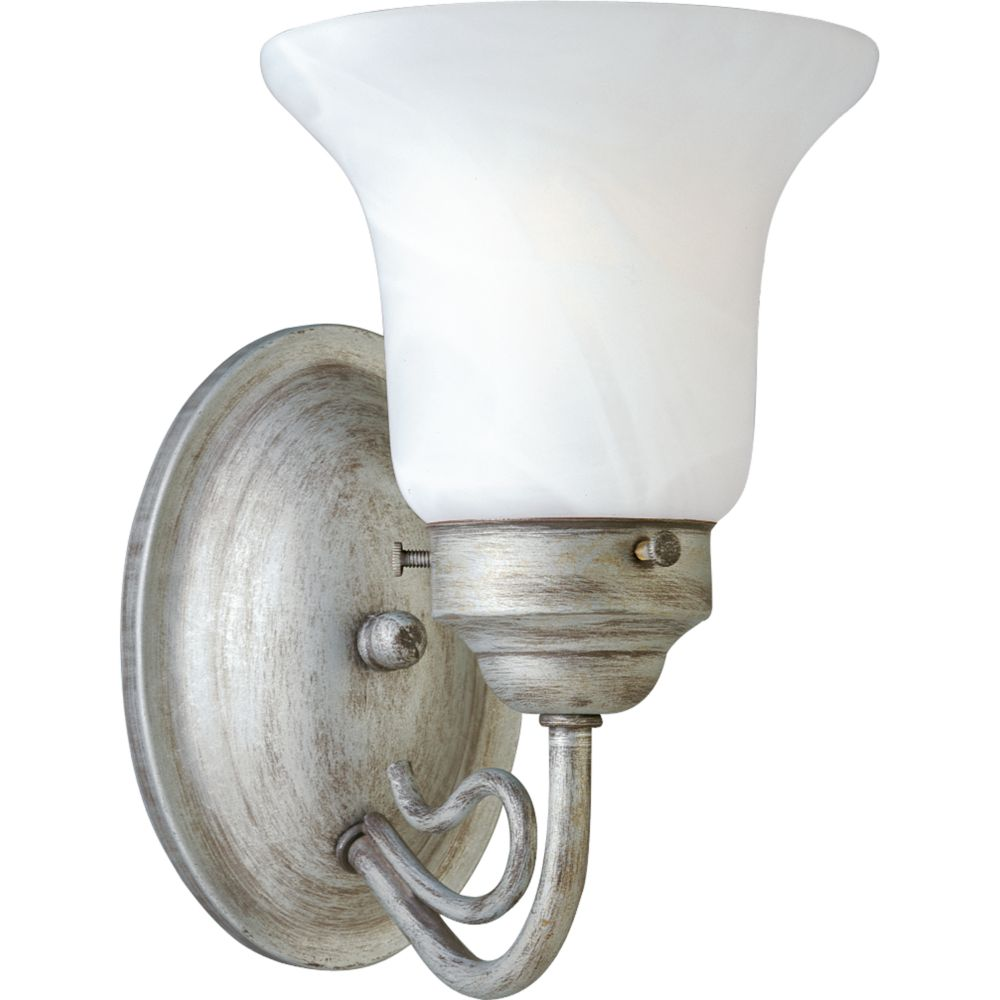 Bedford Collection Oxford Silver 1-light Wall Bracket