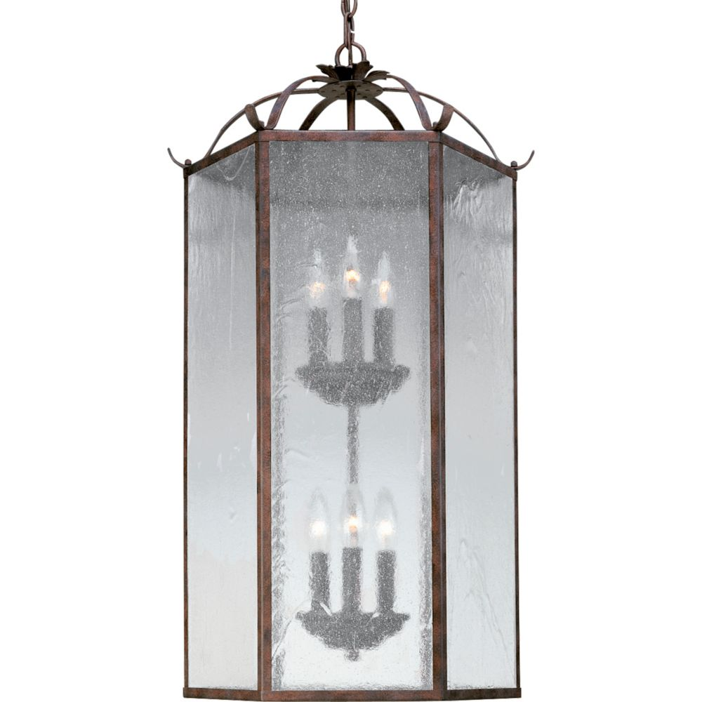 Oakmont Collection Cobblestone Two-Light Chandelier