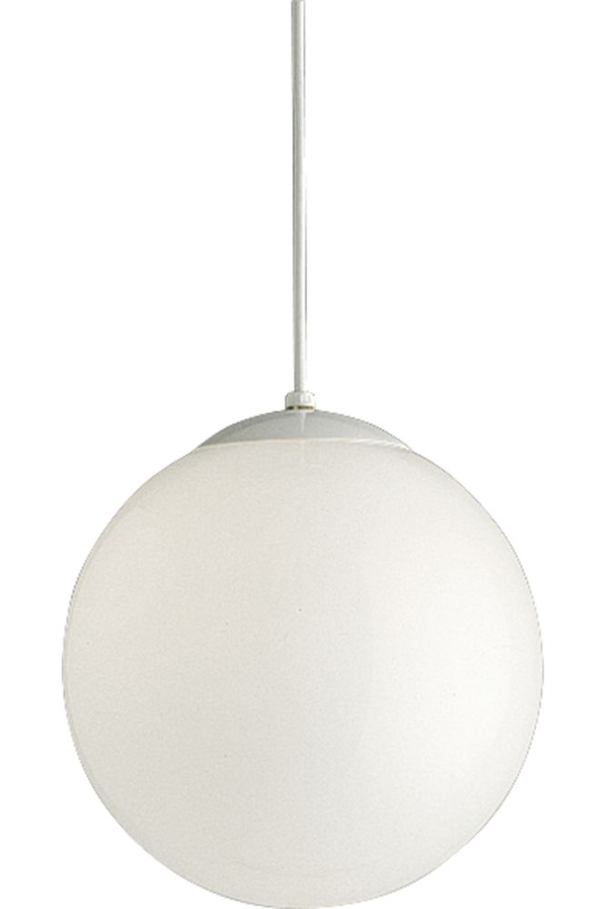 White 1-light Pendant