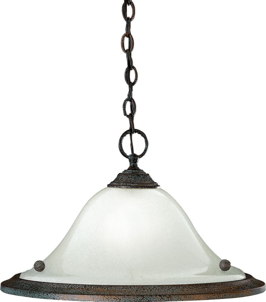Athena Collection Copper Verde 1-light Pendant