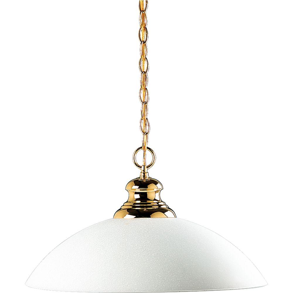 Polished Brass 1-light Pendant