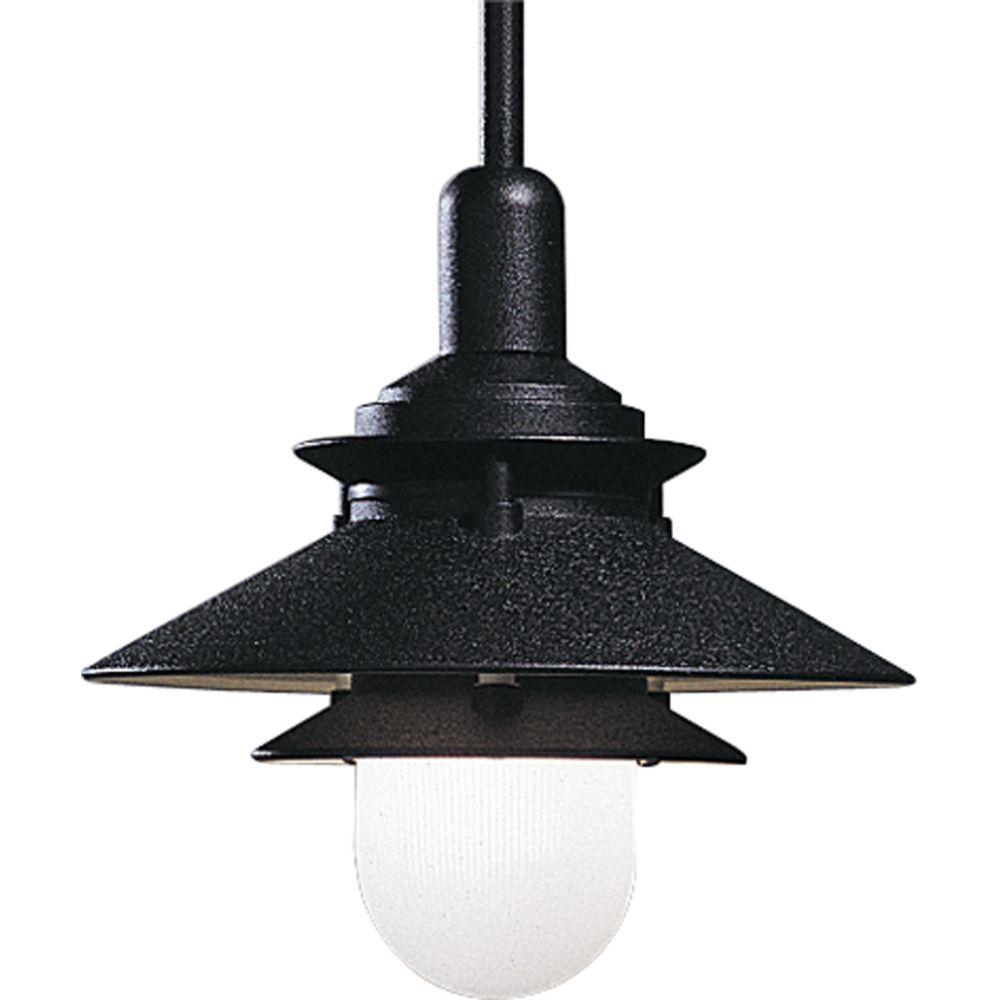 Black 1-light Pendant