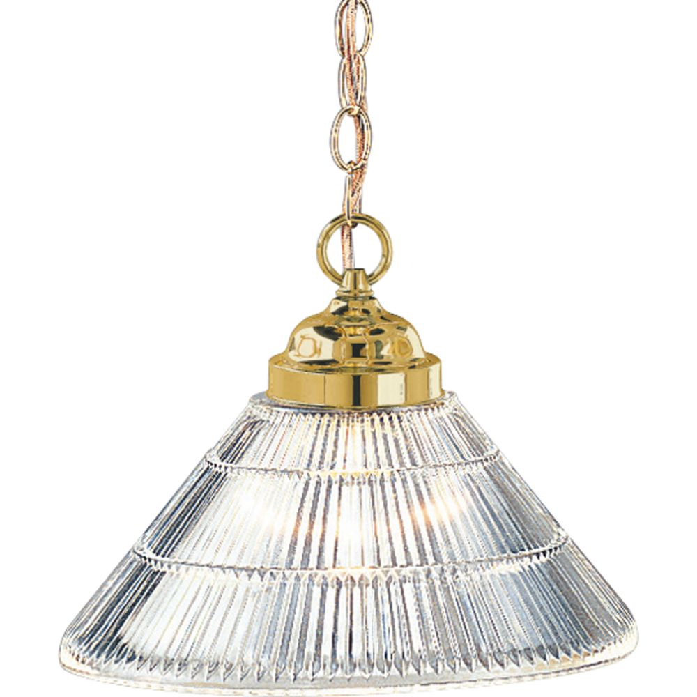 Polished Brass 1-light Pendant