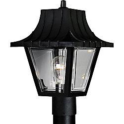 Progress Lighting Lampadaire à 1 Lumière, Collection Mansard - fini Noir Texturé