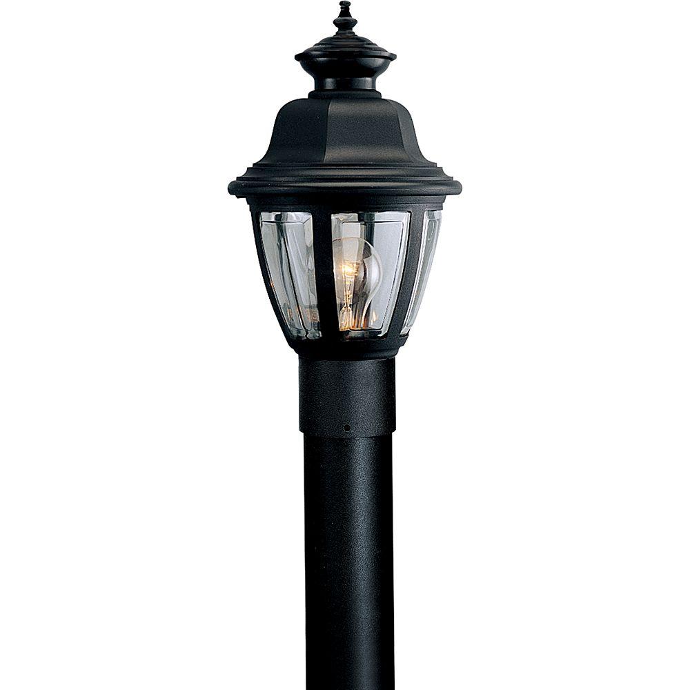 Progress Lighting Lampadaire à 1 Lumière - fini Noir