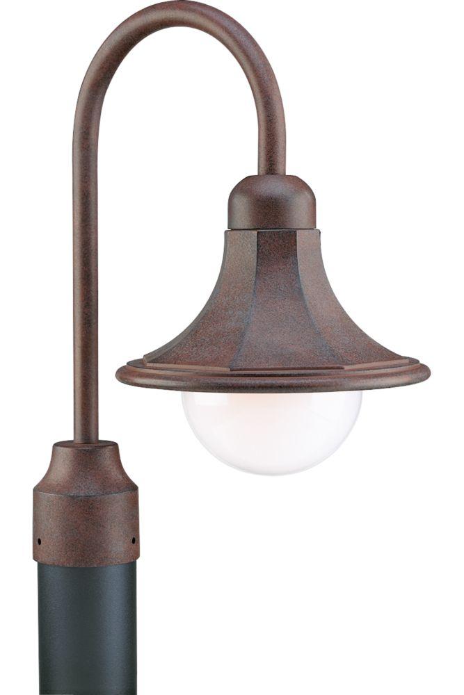 Oakmont Collection Cobblestone 1-light Post Lantern