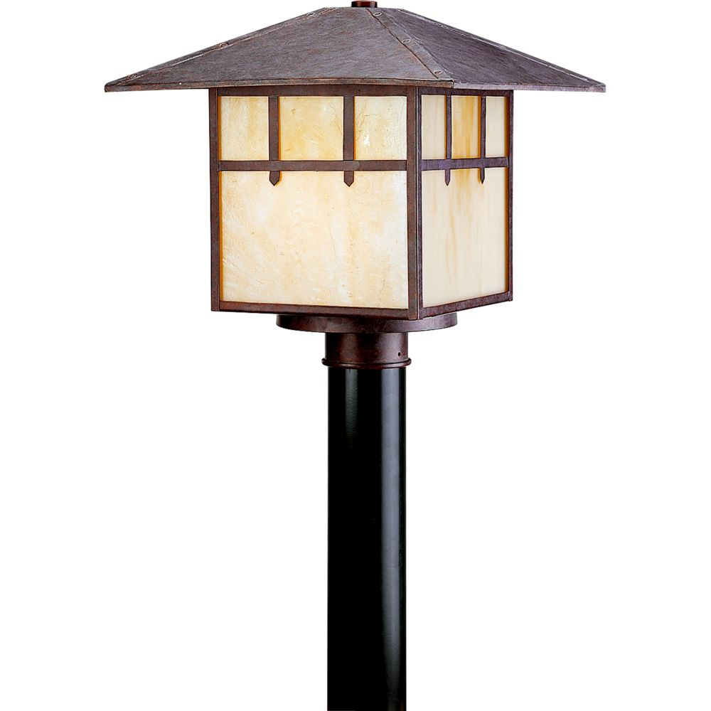 Mission Collection Cobblestone 1-light Post Lantern