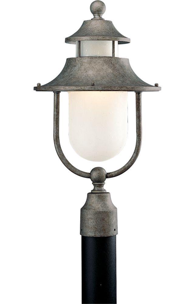 Lampadaire à 1 Lumière, Collection Cape Cod - fini Baroque d'or