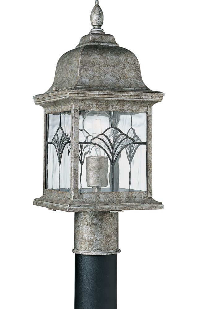 Tiffany Collection Golden Baroque 1-light Post Lantern