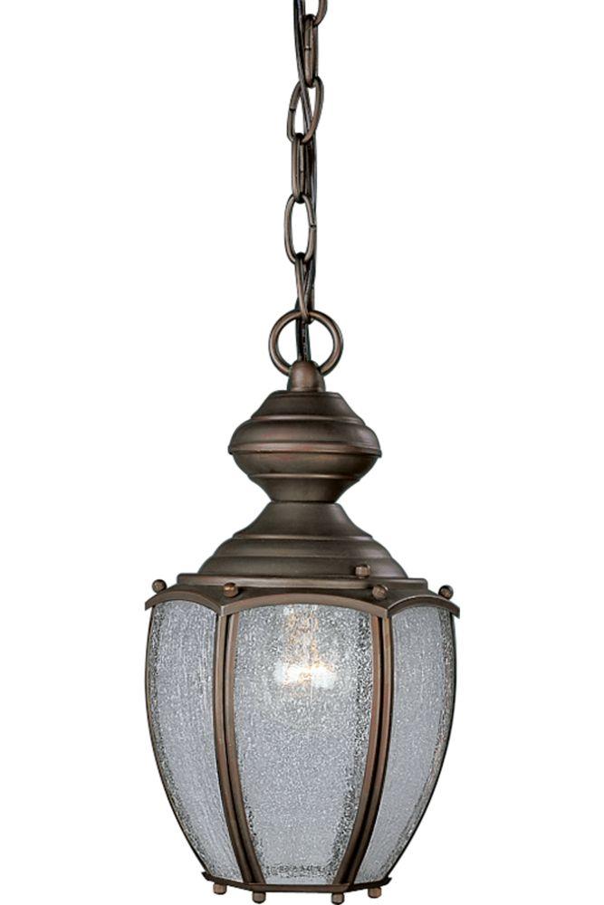 Carriage Classics Collection Roman Bronze 1-light Hanging Lantern