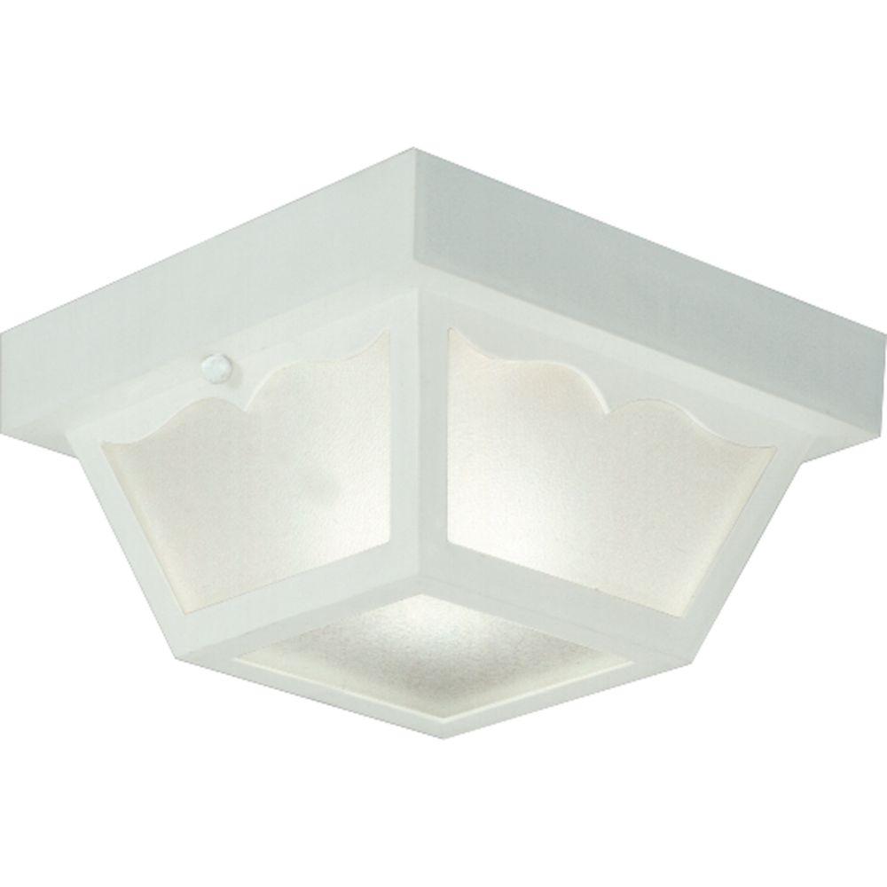 Progress lighting plafonnier ext rieur 1 lumi re fini for Plafonnier exterieur