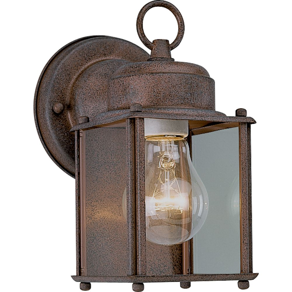 Cobblestone 1-light Wall Lantern