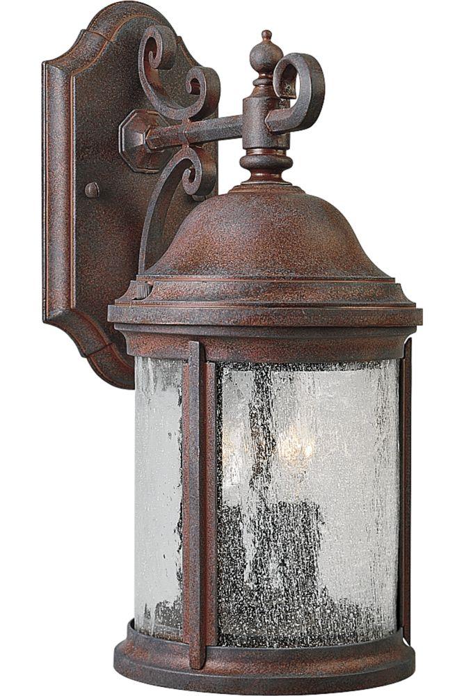 Lanterne murale à 2 Lumières, Collection Ashmore - fini Granit