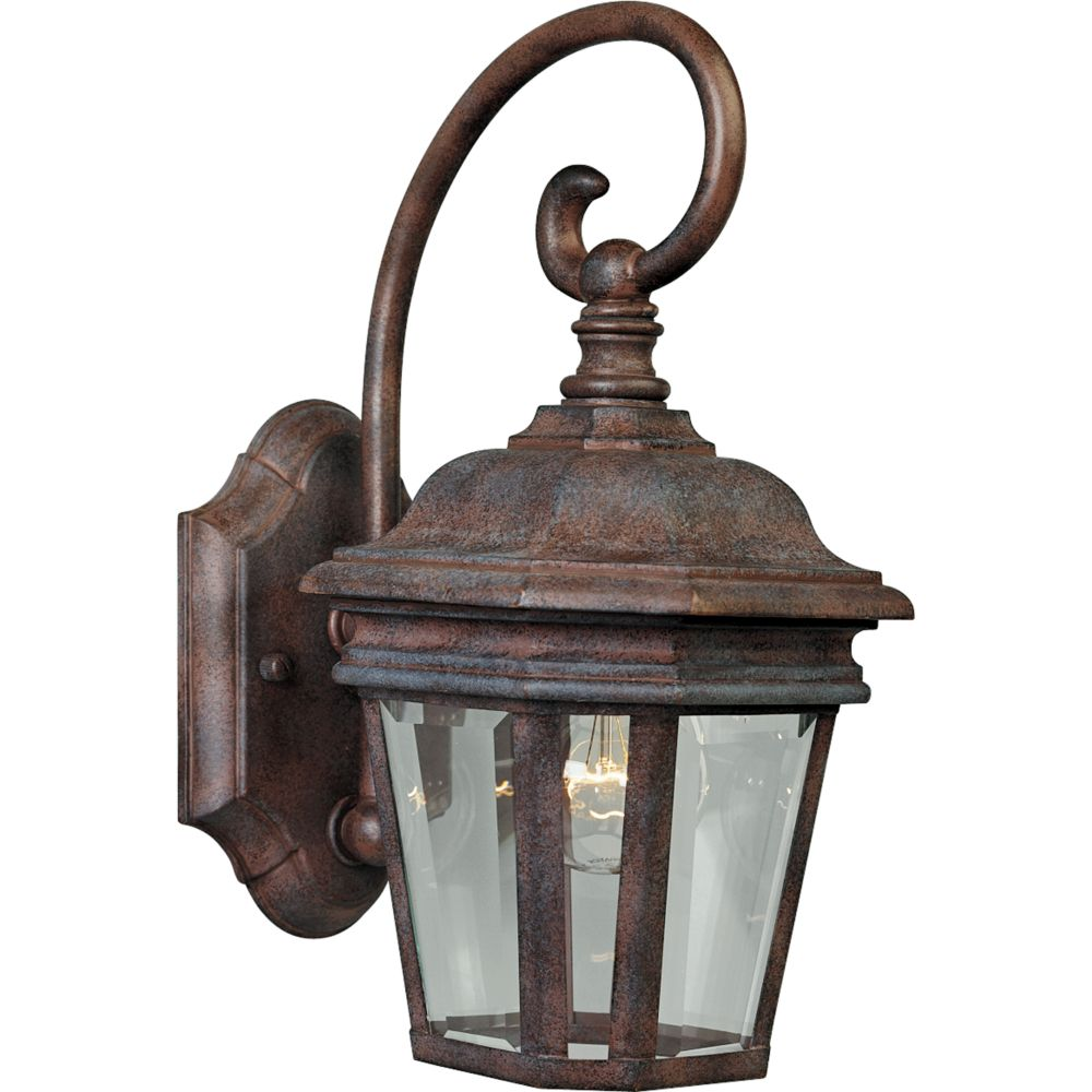 Crawford Collection Cobblestone 1-light Wall Lantern