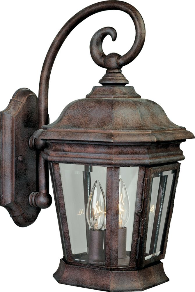 Crawford Collection Cobblestone 2-light Wall Lantern