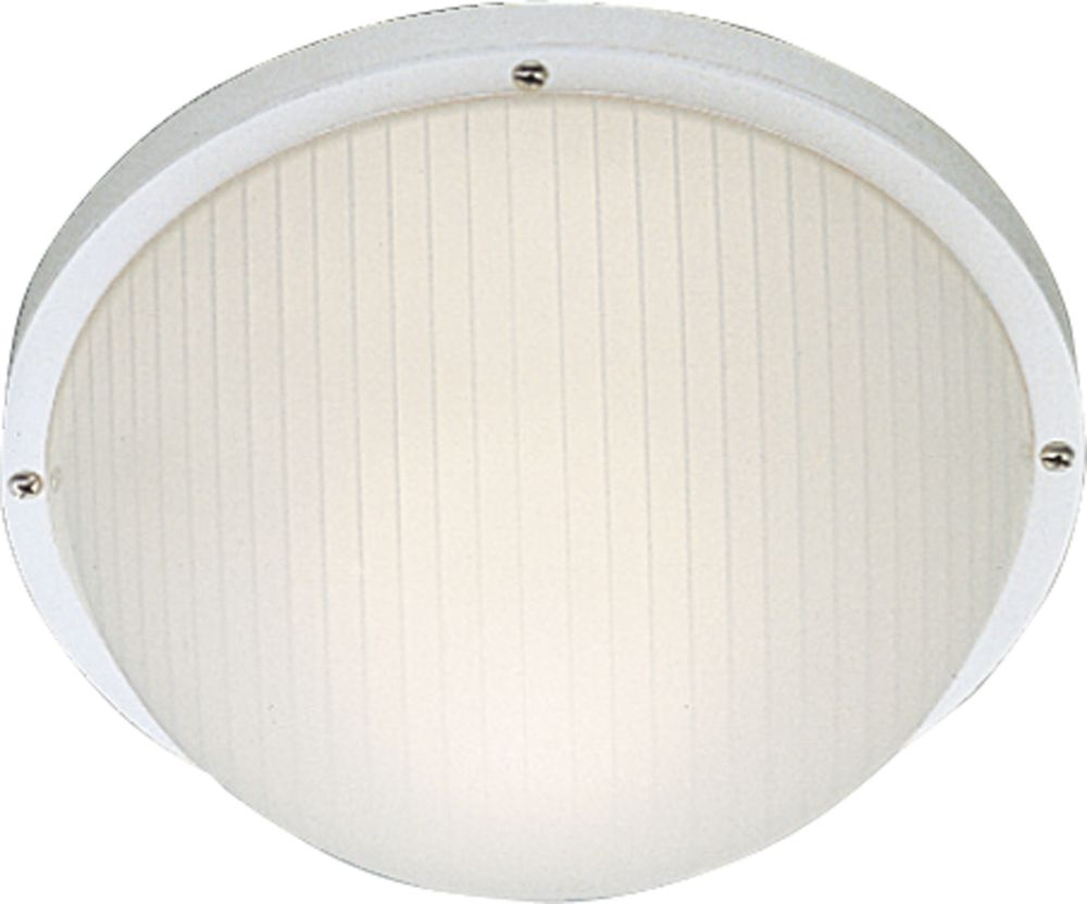 White 1-light Wall Lantern