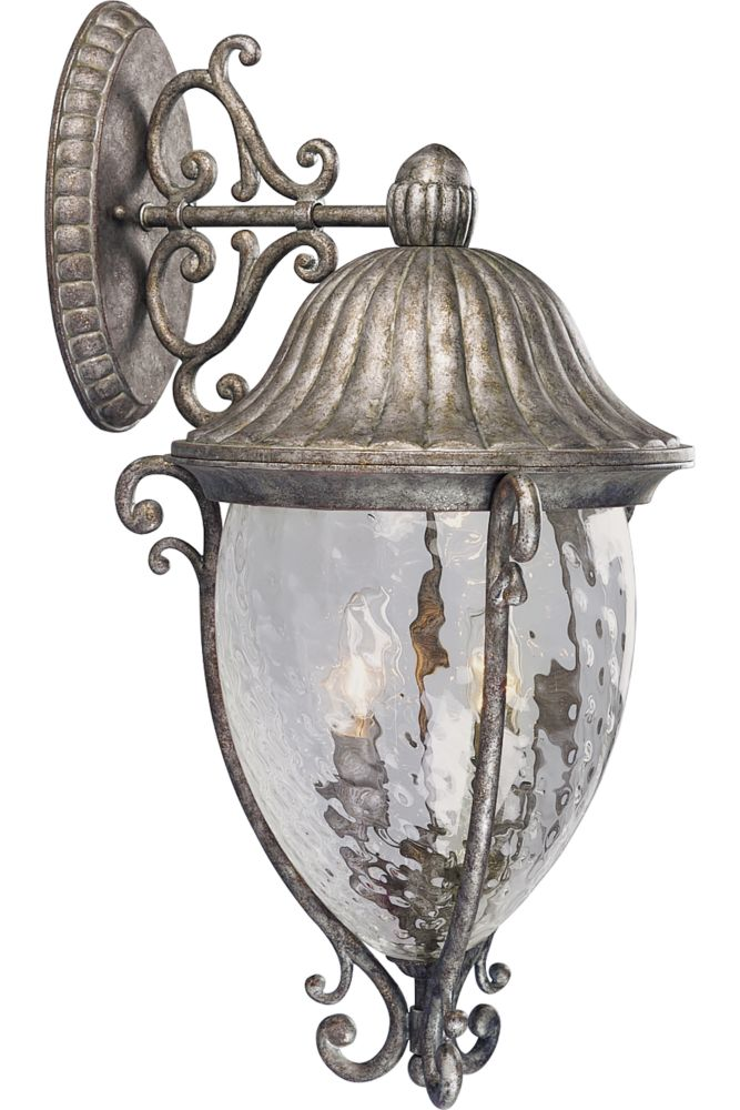 Geneva Collection Golden Baroque 4-light Wall Lantern