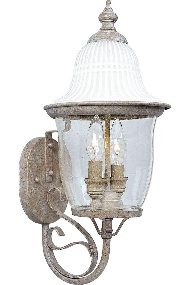 Renaissance Collection Millstone 2-light Wall Lantern