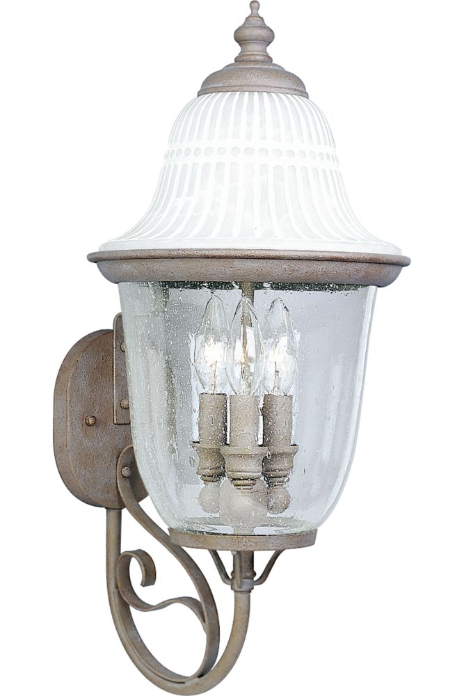 Renaissance Collection Millstone 3-light Wall Lantern