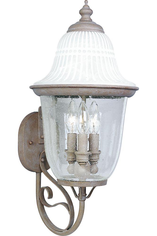 Renaissance Collection Millstone 3-light Wall Lantern
